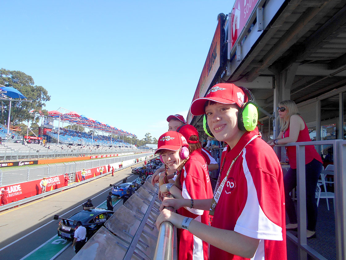A popular excursion each year is to see the Clipsal 500 Motor Race in Adelaide. Students experience interaction with large crowds in a bustling environment, needing to deal with a complex range of noise, colours and activities.
