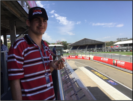 A popular excursion each year is to see the Adelaide 500 Motor Race in Adelaide. Students experience interaction with large crowds in a bustling environment, needing to deal with a complex range of noise, colours and activities.